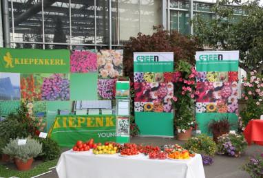 Gemüseverkostung an einer Fachtagung