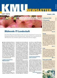 SAP KMU Newsletter 4/2004