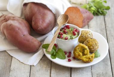 Ipomoea batatas Erato Orange und Erato White (Süsskartoffeln)