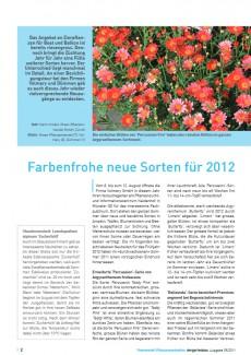 Der Gartenbau 39/2011